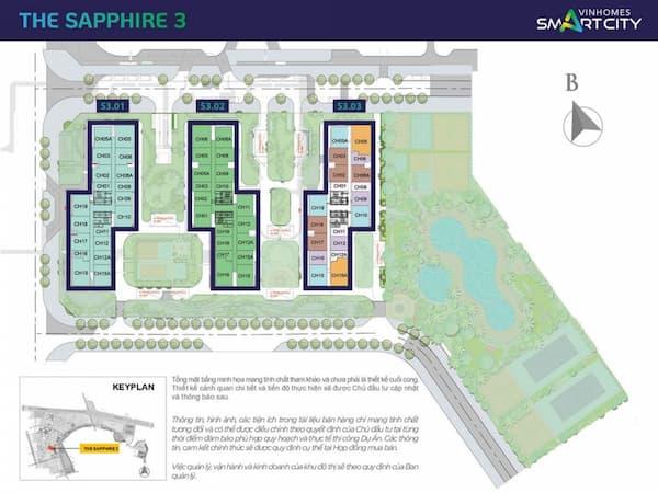 mat-bang-phan-khu-the-sapphire-3-vinhomes-smart-city-1024x768